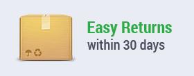 Easy Returns in 30 Days