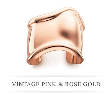 Vintage Pink & Rose Gold