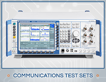 Shop Communications Test Sets