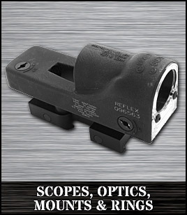 Scopes, Optics, Mounts & Rings