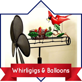 Shop Whirligigs & Balloons
