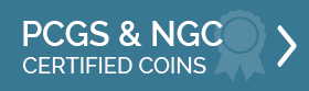 PCGS & NGC Certified Coins