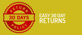 Easy 30 Day Returns