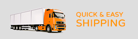 Quick & Easy Shipping