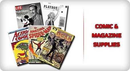 Shop Comic & Magazine Supplies