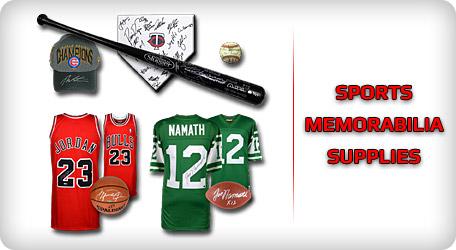 Shop Sports Memorabilia Supplies