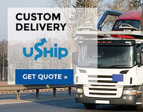 Custom Delivery via Uship - get quote