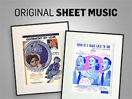 Shop Original Sheet Music