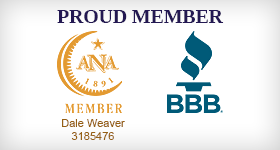 Proud Member of ANA and BBB