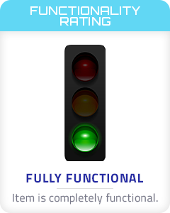 Functionality Rating