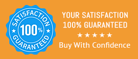 Your Satisfaction Guaranteed - Buy with Confidence